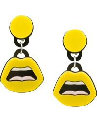 Yazbukey - 'c'est Ahh...' Earrings - Lyst