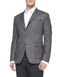 Paul Smith Donegal Quilted Two-button Jacket - Lyst