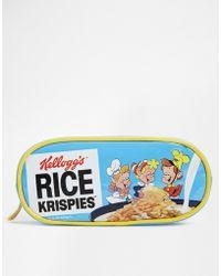 Asos Kelloggs Rice Krispies Makeup Bag - Lyst