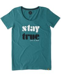 Life Is Good. - Stay True Cotton Tee - Lyst
