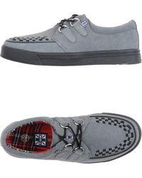 T.U.K. Low-tops & Sneakers - Gray