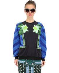 Emma Cook - Luxe Appliqué Cotton Sweatshirt - Lyst