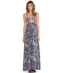 Maaji Multicolor Contrast Dress - Lyst