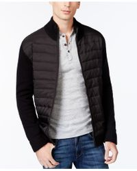 Tricots St Raphael - Quilted Nylon Sweater Jacket - Lyst