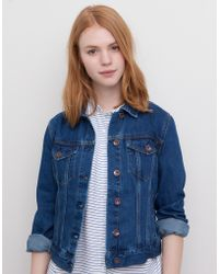 Pull&Bear Denim Jacket - Lyst