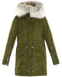 Altuzarra Fur-trim Hooded Parka - Lyst