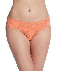Cosabella Bootie Thong orange - Lyst