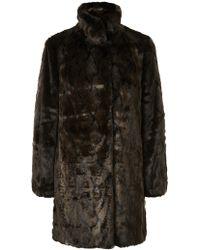 Jacques Vert - Faux Fur Coat - Lyst