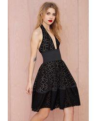 Nasty Gal Dream On Laser Cut Dress - Lyst
