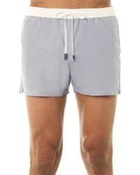 Myo - Oxford Swim Shorts - Lyst