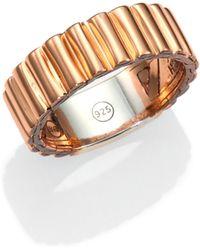 John Hardy Bedeg Bronze & Sterling Silver Ring - Lyst