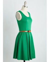 Coco Love Consistently Charming Dress In Emerald - Green