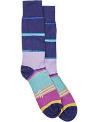 Paul Smith | Block-striped Mid-calf Socks | Lyst