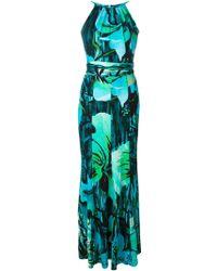 Matthew Williamson Floral Print Maxi Dress - Lyst