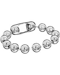 Cheap Monday Ball Chain Bracelets - Lyst