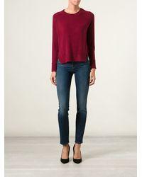 J Brand High-low Hem Sweater - Lyst