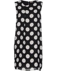 Vero Moda Short Dress black - Lyst