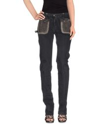 Costume National | Denim Trousers | Lyst