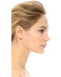Elizabeth and James - Tonto Hoops Earrings - Gold - Lyst