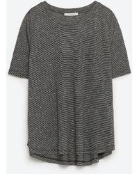 Zara | Jacquard Top | Lyst