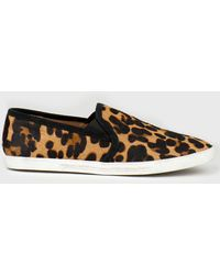 Joie Kidmore Leopardprint Calf Hair Slipon - Lyst