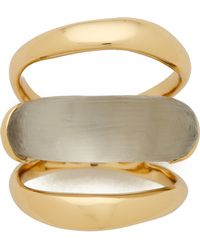 Alexis Bittar Orbital Ring - Warm Grey - Lyst