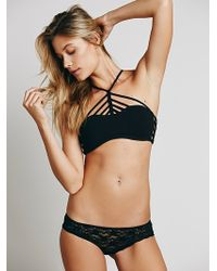 Free People Womens Pyramid Strappy Front Bra - Lyst
