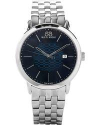 88 Rue Du Rhone 87wa140024 Stainless Steel Watch - Blue