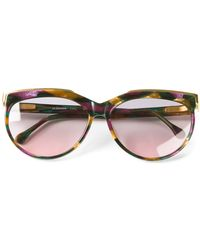 Vintage Shades - Jil Sander Round Fame Sunglasses - Lyst
