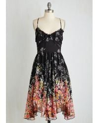 Moon Collection - Winsome Wildflowers Dress - Lyst