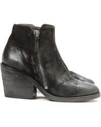 Settima Zippered Ankle Boot - Lyst