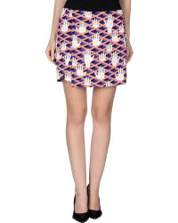 Opening Ceremony Mini Skirt - Lyst