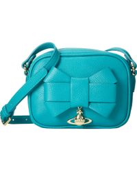 Vivienne Westwood Oversized Bow Crossbody - Lyst