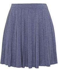 Olive & Oak - Pleated Swing Skirt - Lyst
