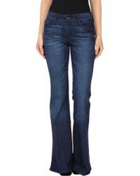 Black Orchid Denim Pants - Blue