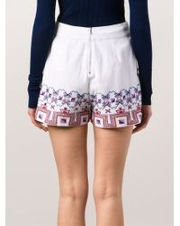 SUNO | Embroided Wide Shorts | Lyst