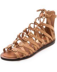 Dolce Vita - Fray Gladiator Sandals - Lyst