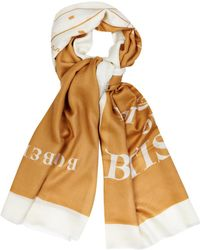 Burberry Prorsum - Book Cover-Print Cashmere Scarf - Lyst