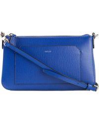 Bally Addison Leather Cross-Body Bag - Lyst