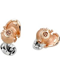 Deakin & Francis Diving Helmet Cuff Links - Lyst