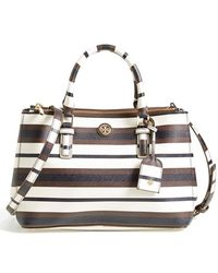 Tory Burch 'Mini Robinson' Double Zip Tote - Lyst