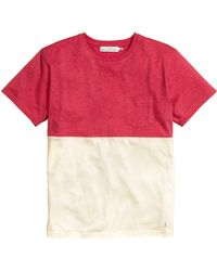 H&M Block-Coloured T-Shirt - Lyst