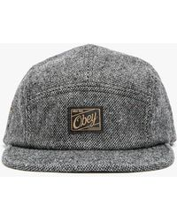 Obey Ulster 5 Panel Hat - Lyst