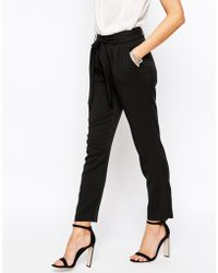 Oasis | Belted Peg Trousers | Lyst
