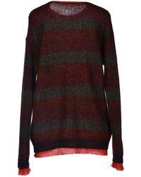 Miu Miu Red Sweater - Lyst