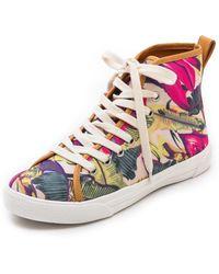 Zimmermann - Floral Printed Sneakers - Lyst
