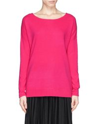 Diane von Furstenberg 'Jenia' Boxy Cashmere Sweater - Lyst