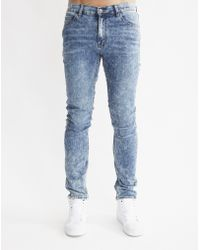 Cheap Monday | Tight Youth Blue Jeans | Lyst
