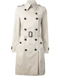 Burberry London 'Kensington' Trench-Coat - Lyst