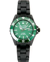 Blue & Cream 420 Limited Edition Timepiece In Green/black